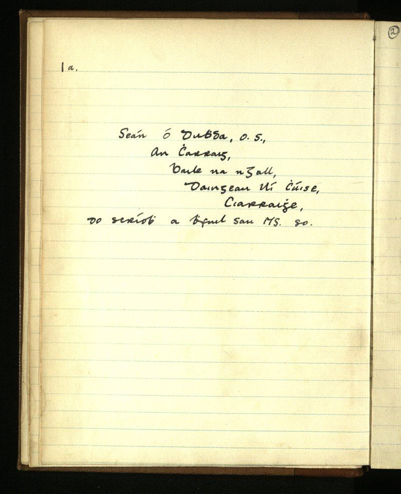 Kilmalkedar/Ventry | The Main Manuscripts Collection