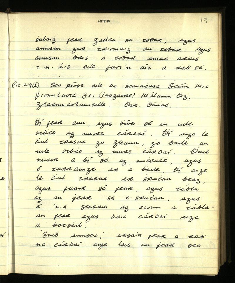 Gleann Cholm Cille | An Príomhbhailiúchán Lámhscríbhinní
