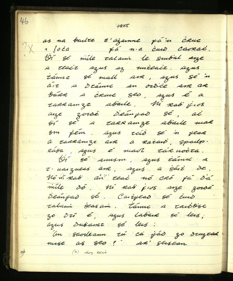 Glencolumbkille | The Main Manuscripts Collection