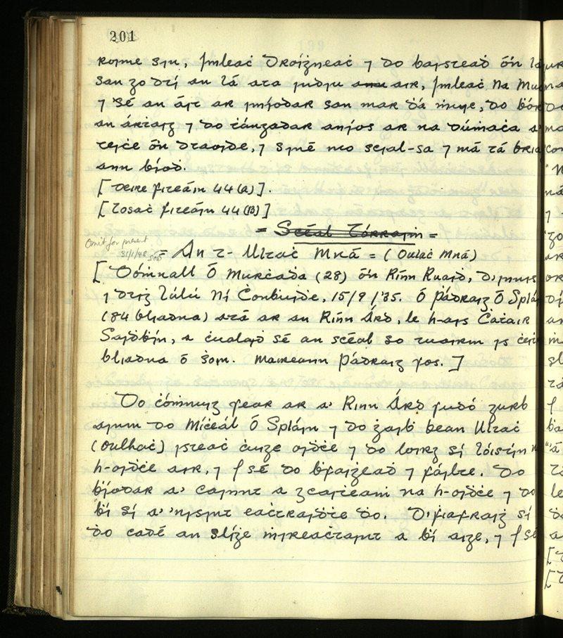 Dromod/Kilcrohane/Prior | The Main Manuscripts Collection