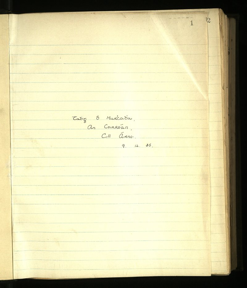 Dromod/Kilcrohane | The Main Manuscripts Collection