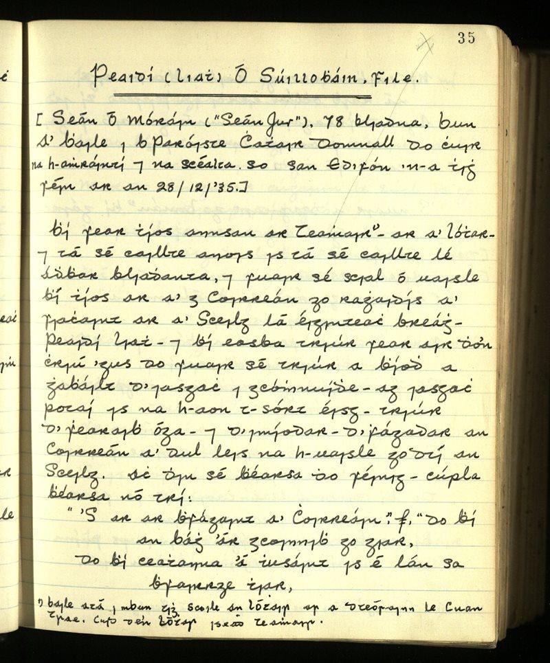 Peaidí Liath Ó Súillobháin, File