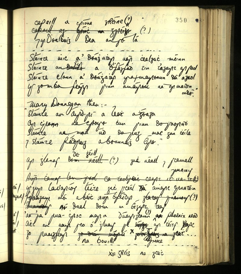 Maigh Dheilge/Rinn Ó gCuanach | An Príomhbhailiúchán Lámhscríbhinní