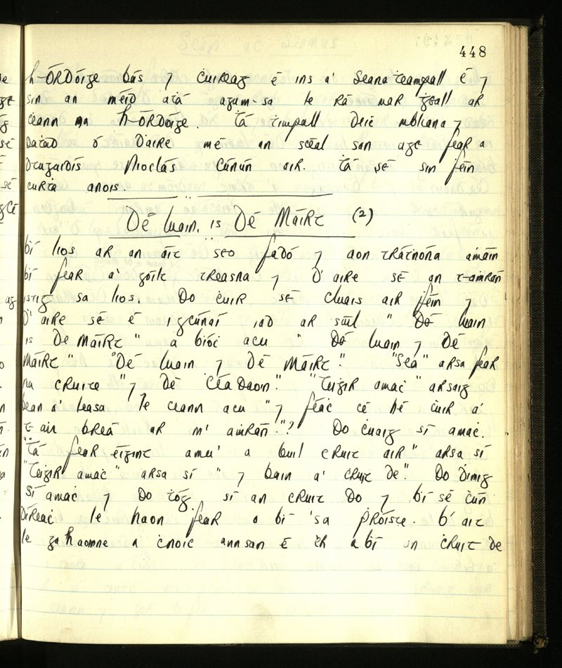 Ringagonagh   The Main Manuscripts Collection