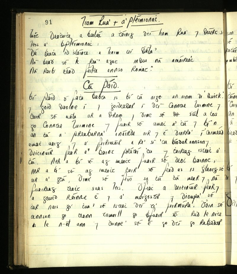 Kilrossanty​/​Ringagonagh | The Main Manuscripts Collection