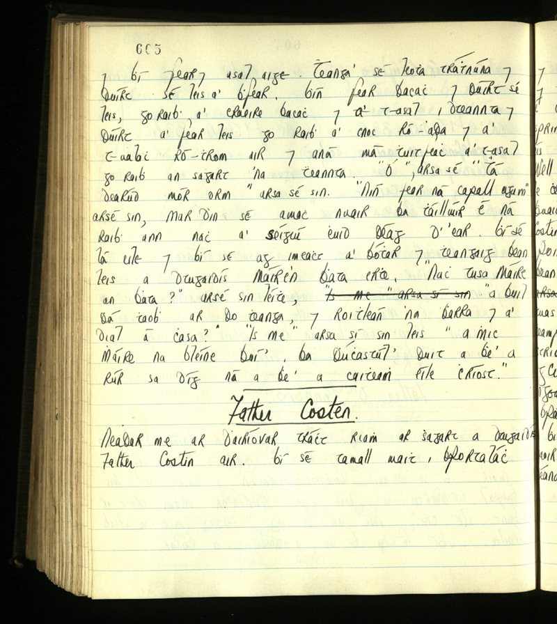 Cill Rosanta/Rinn Ó gCuanach | An Príomhbhailiúchán Lámhscríbhinní