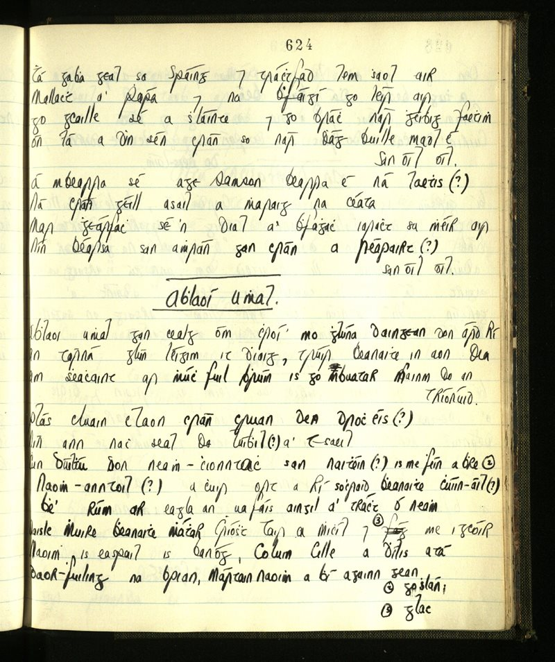 Kilrossanty/Ringagonagh   The Main Manuscripts Collection