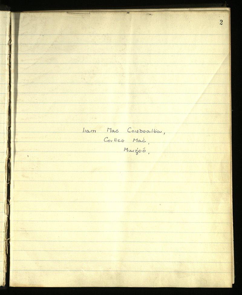 Carna | The Main Manuscripts Collection