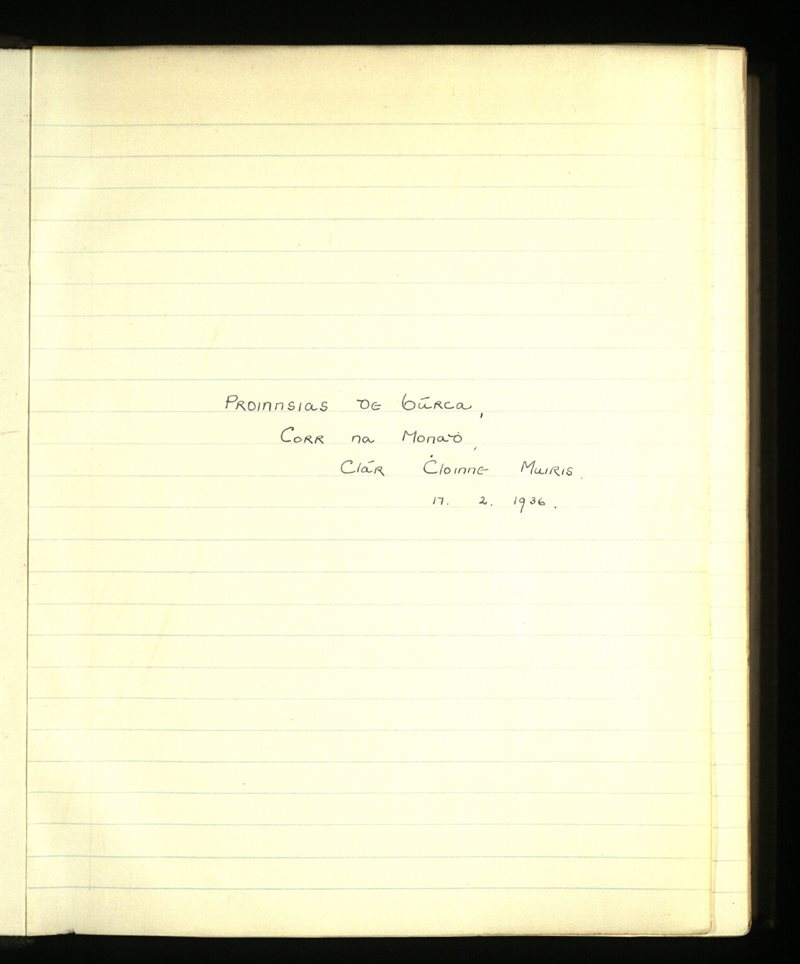 Ross/Ross | The Main Manuscripts Collection