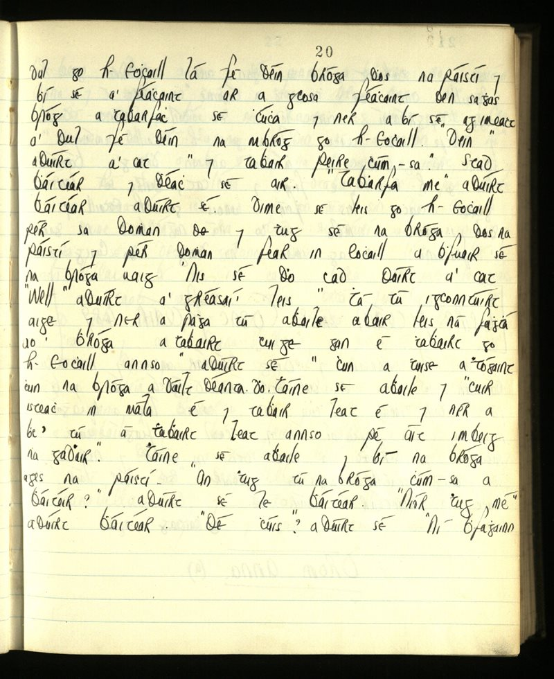 Lisgenan or Grange/Ringagonagh/Dungarvan   The Main Manuscripts Collection