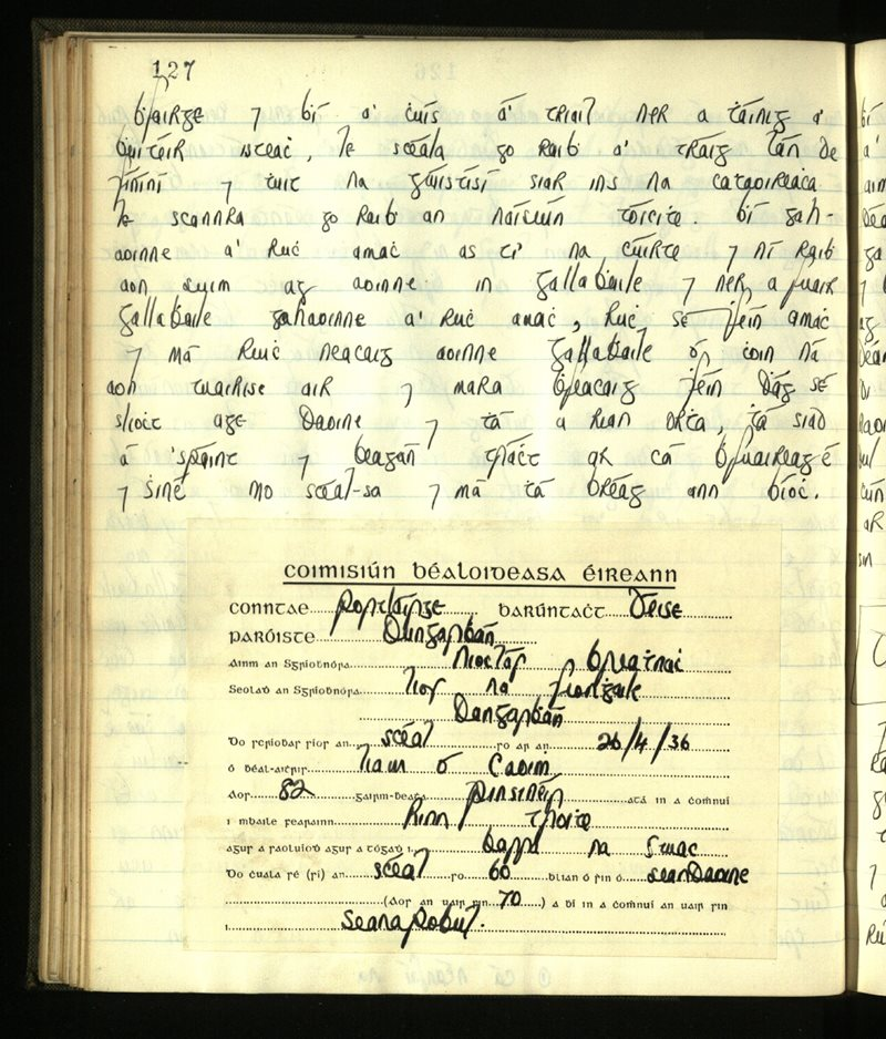 Lisgenan or Grange​/​Ringagonagh​/​Dungarvan | The Main Manuscripts Collection
