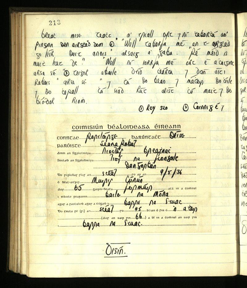 Lisgenan or Grange/Ringagonagh/Dungarvan | The Main Manuscripts Collection
