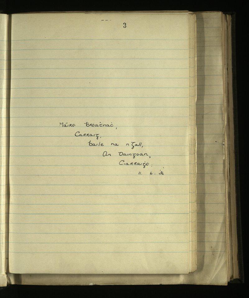 Kilmalkedar | The Main Manuscripts Collection