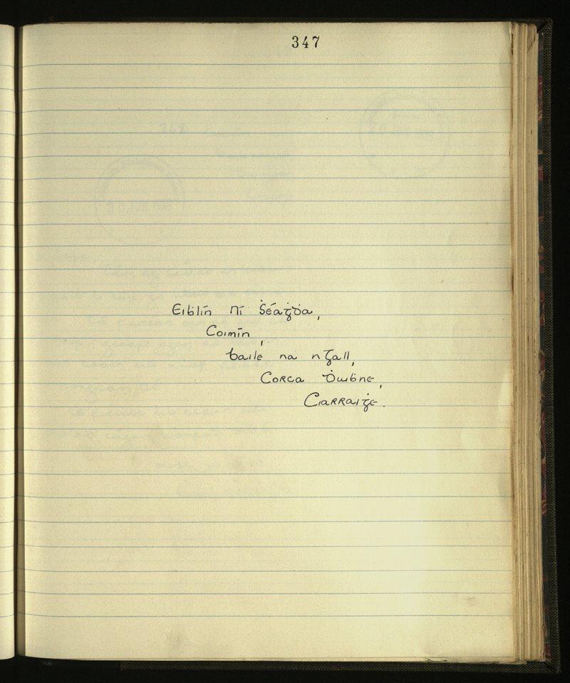 Kilmalkedar   The Main Manuscripts Collection