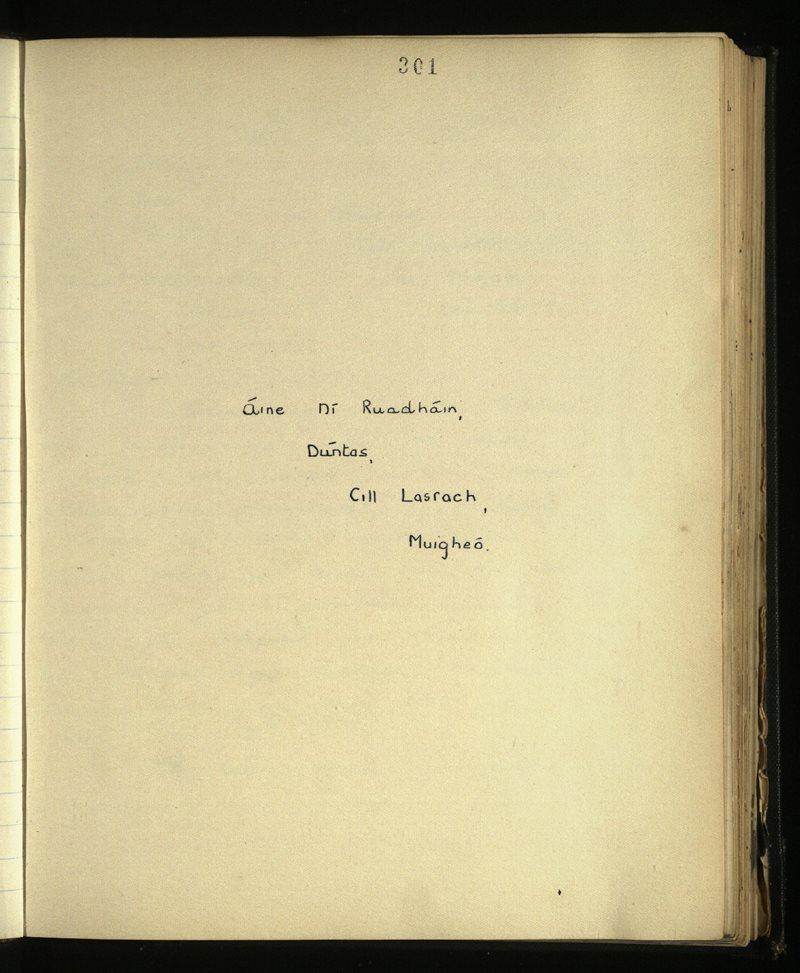 Cill Lasrach | An Príomhbhailiúchán Lámhscríbhinní