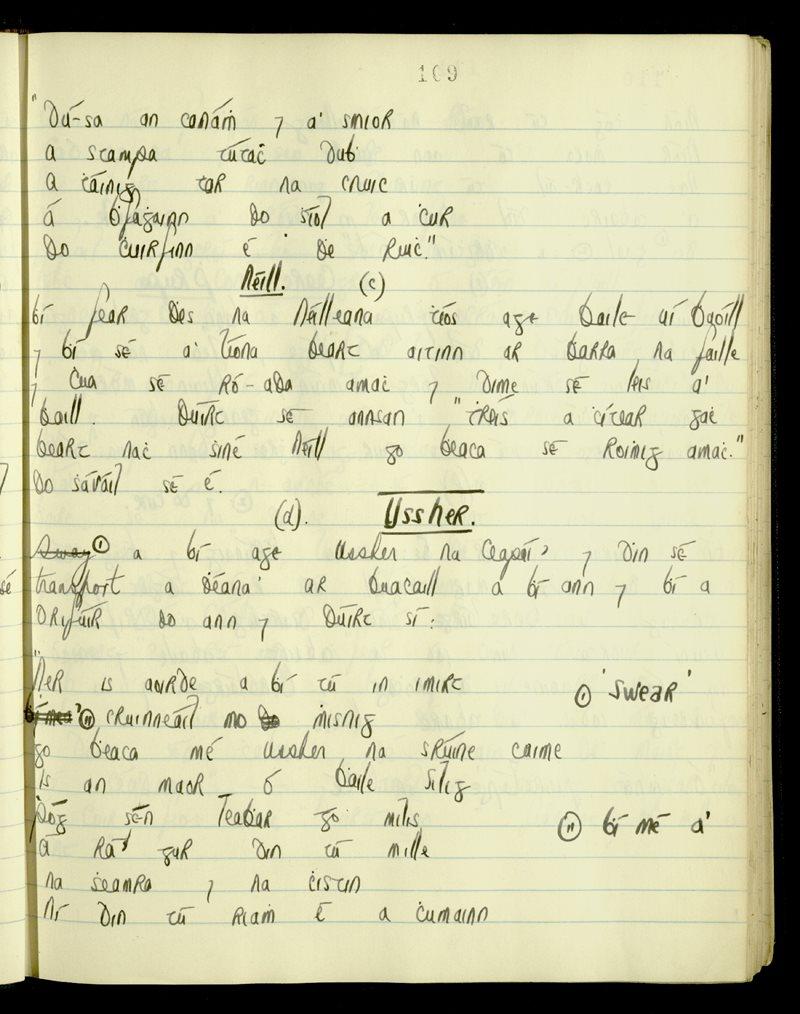 Ardmore/Ringagonagh/Stradbally   The Main Manuscripts Collection
