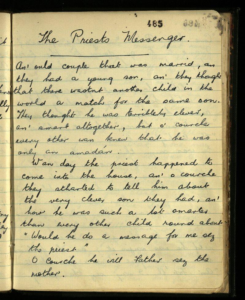 The Priest's Messenger