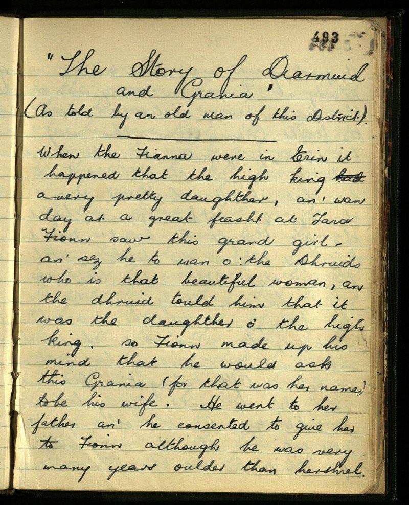 The Story of Diarmuid and Grania
