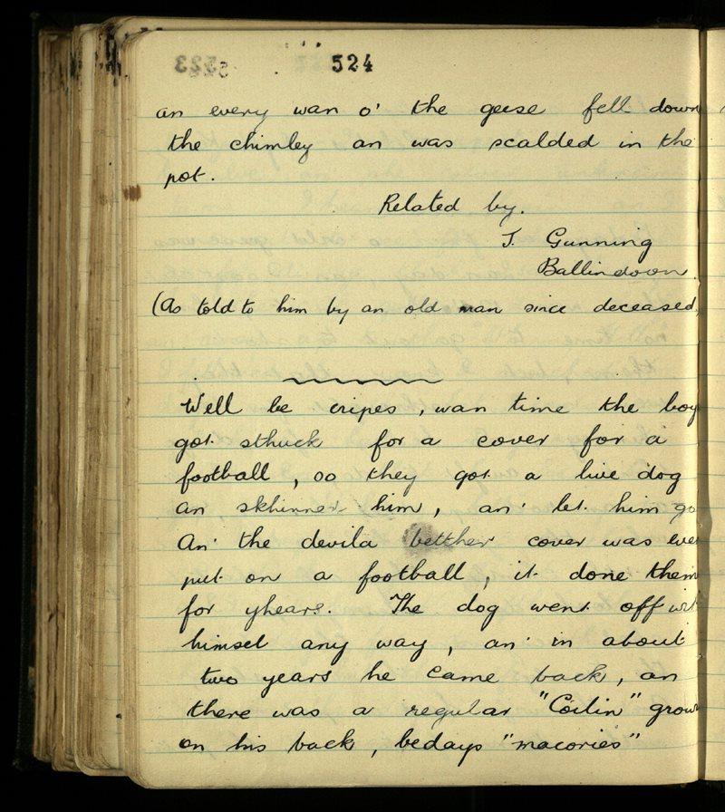 Kilmacallan/Kilmactranny | The Main Manuscripts Collection