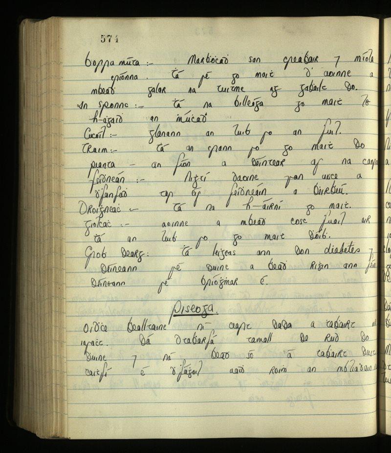 Ardmore/Kilgobnet/Modelligo/Ringagonagh/Stradbally/Dungarvan/Old Parish/Tooraneena/Ballymacarbry; Ballymacarberry | The Main Manuscripts Collection