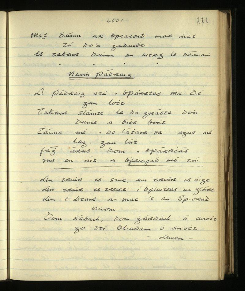 Inishkea North | The Main Manuscripts Collection