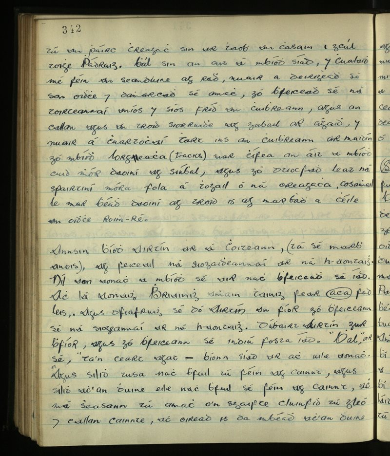 Cloghaneely; Cloughaneely/Gweedore | The Main Manuscripts Collection
