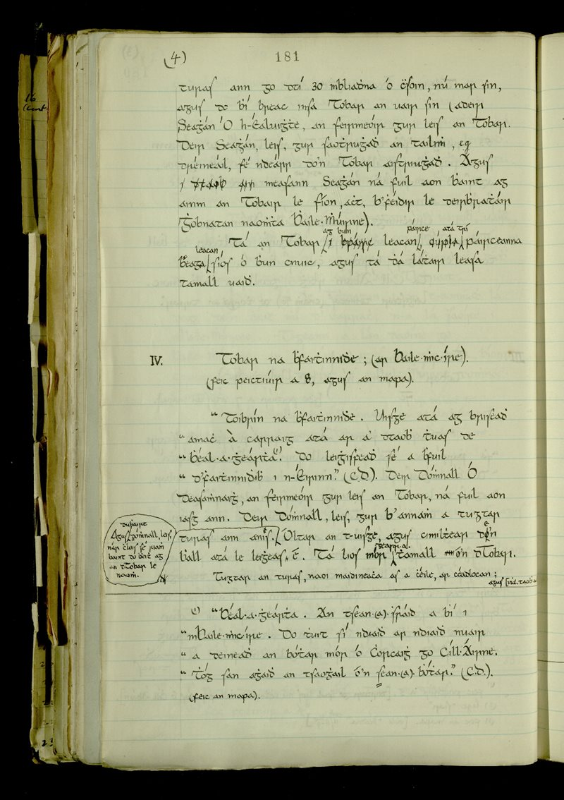 Lough Mackeenlaun | The Main Manuscripts Collection