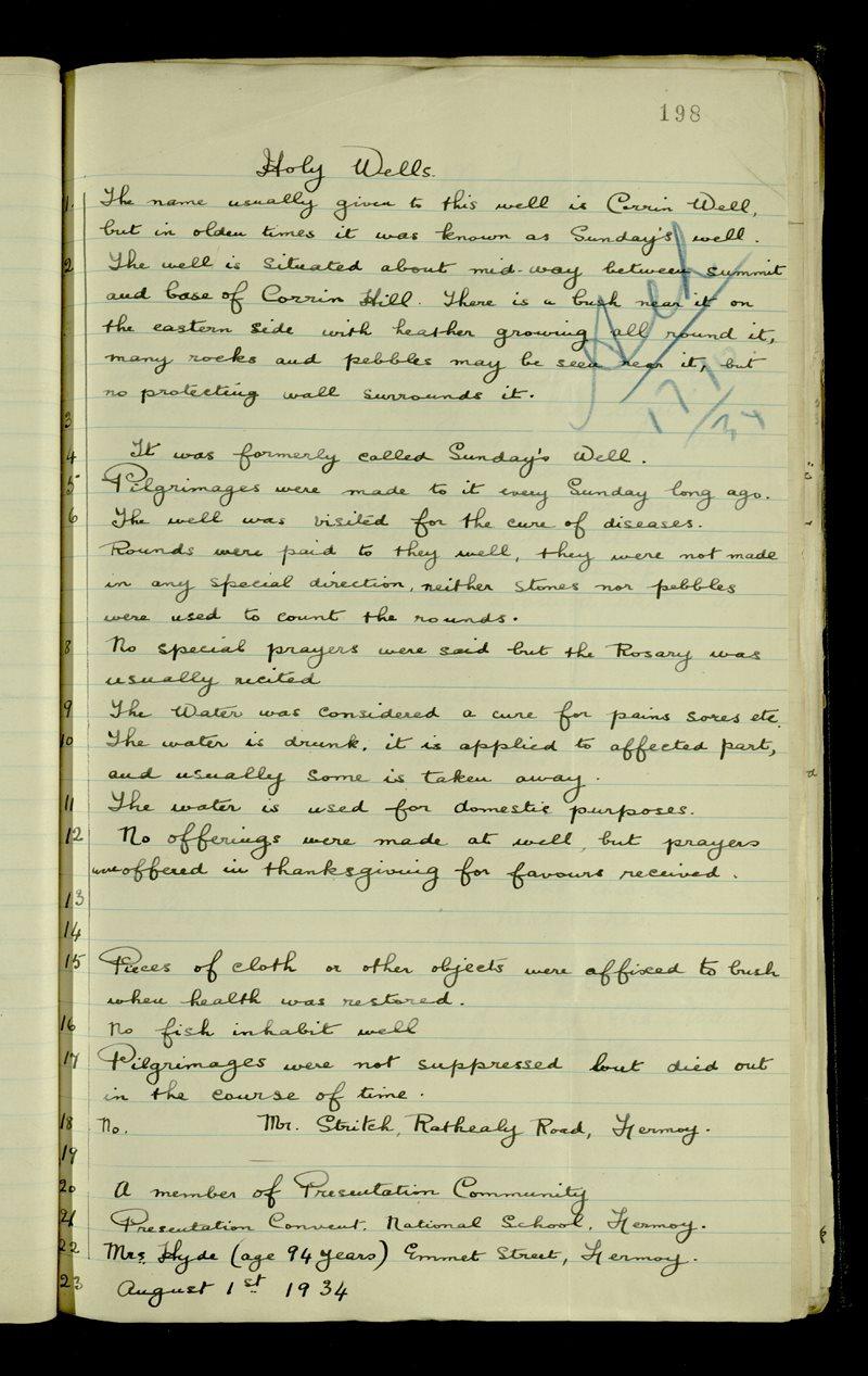 Lough Mackeenlaun | The Main Manuscripts Collection