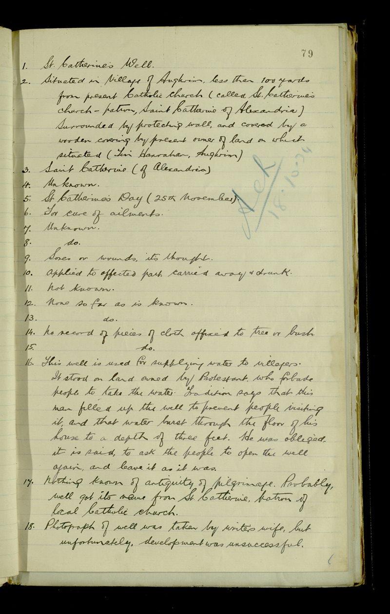 Bunduff | The Main Manuscripts Collection
