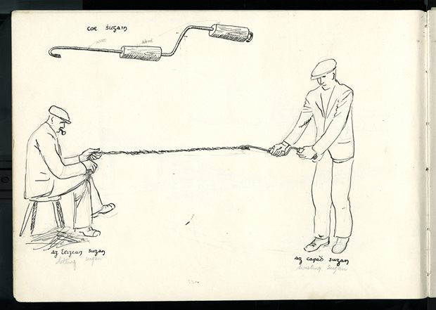 Livelihood and Housekeeping: rope-making