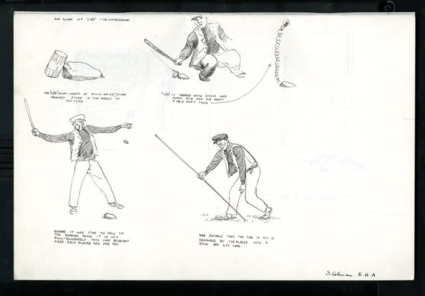 Games and Pastimes: stick games