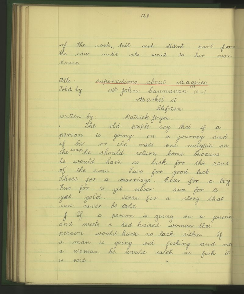An Clochán (B) | The Schools' Collection