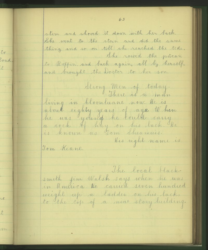 Nead an Iolraigh | The Schools' Collection
