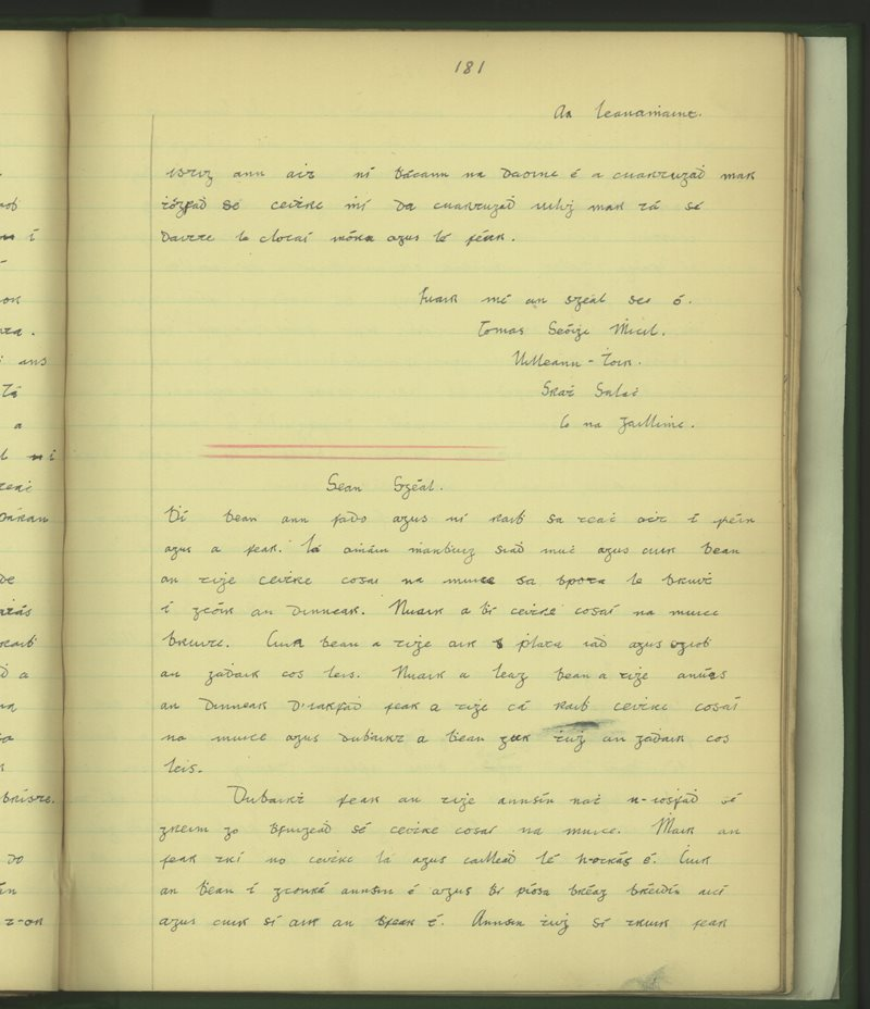 Doire Mór Iata | The Schools' Collection