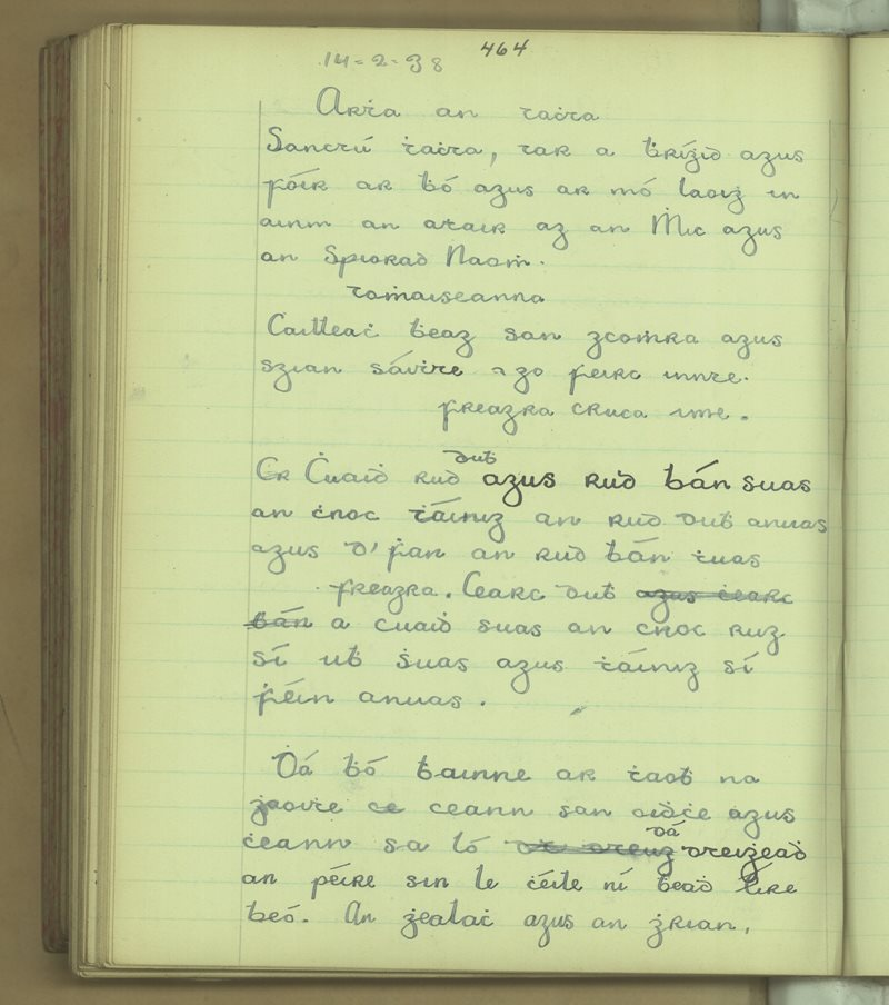 Cill Chiaráin | The Schools' Collection