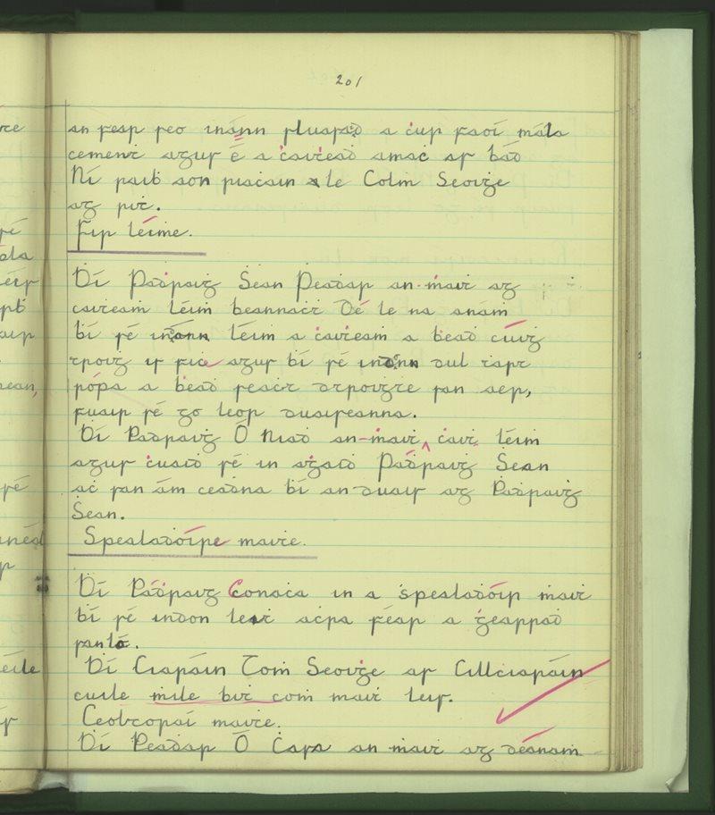 Ballinafad | The Schools' Collection