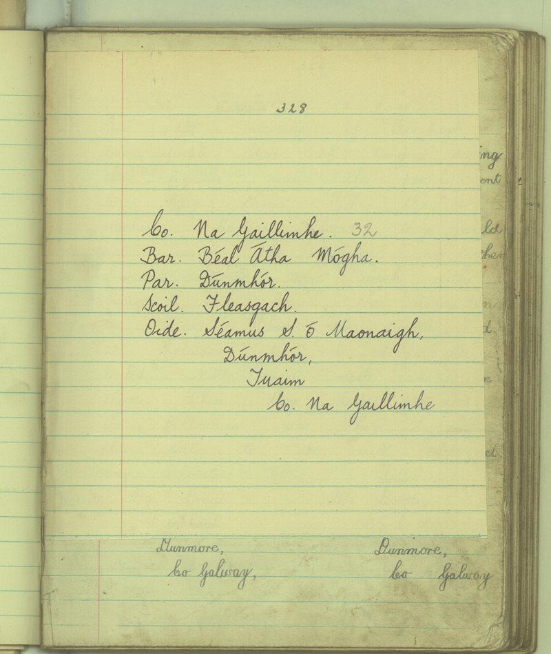 Fleasgach | The Schools' Collection