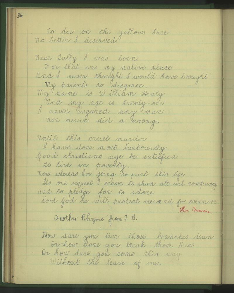 Gort na Díogha | The Schools' Collection