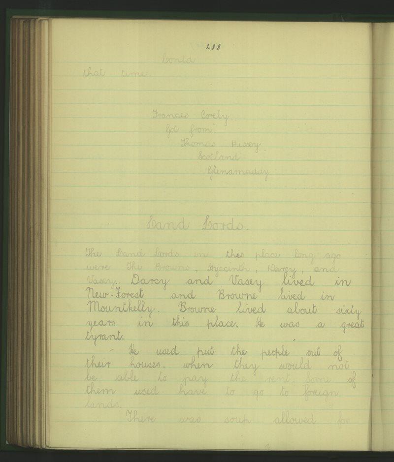 Scoil Sheosaimh Ntha (Cailíní) | The Schools' Collection