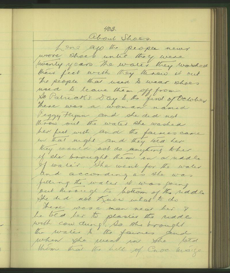 Cathair Loisgreáin (B) | The Schools' Collection