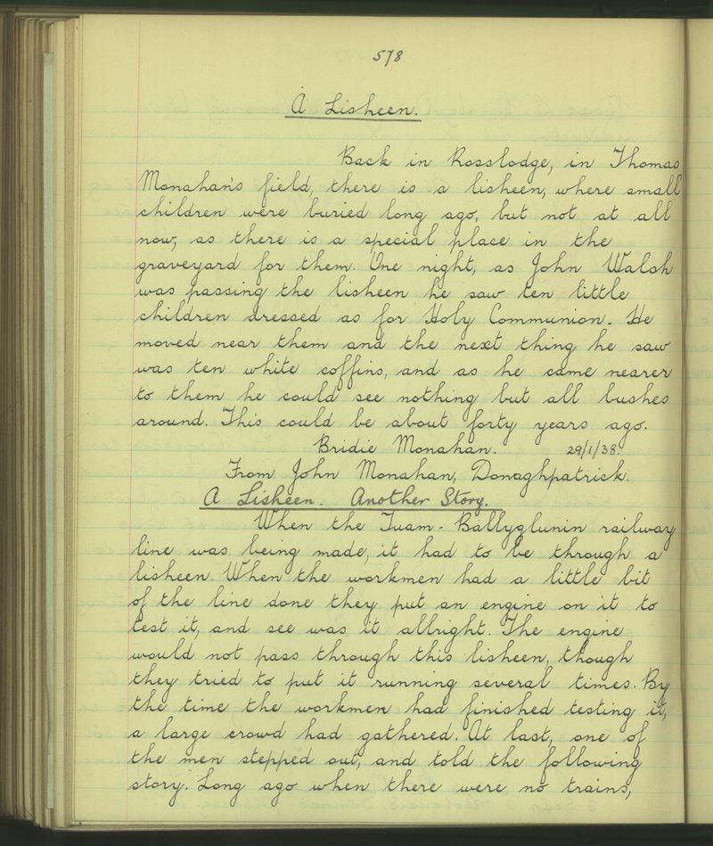 Cathair Loisgreáin (C) | Bailiúchán na Scol