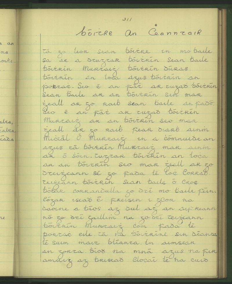An Mhainistir, Carrabeg | The Schools' Collection