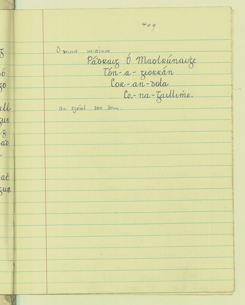Scoil Bhríge Naofa (An Cheathrú Bheag) | The Schools' Collection