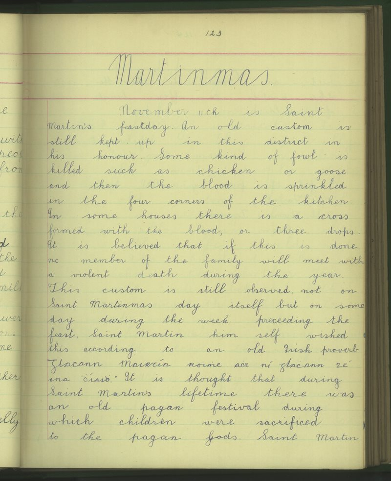Clochar na Trocaire | The Schools' Collection