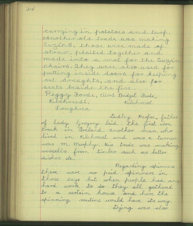 Cill Críosta | The Schools' Collection