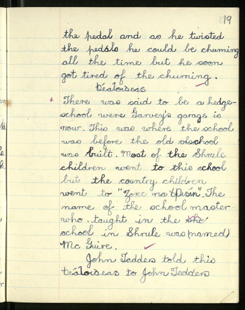 Shrule | Bailiúchán na Scol