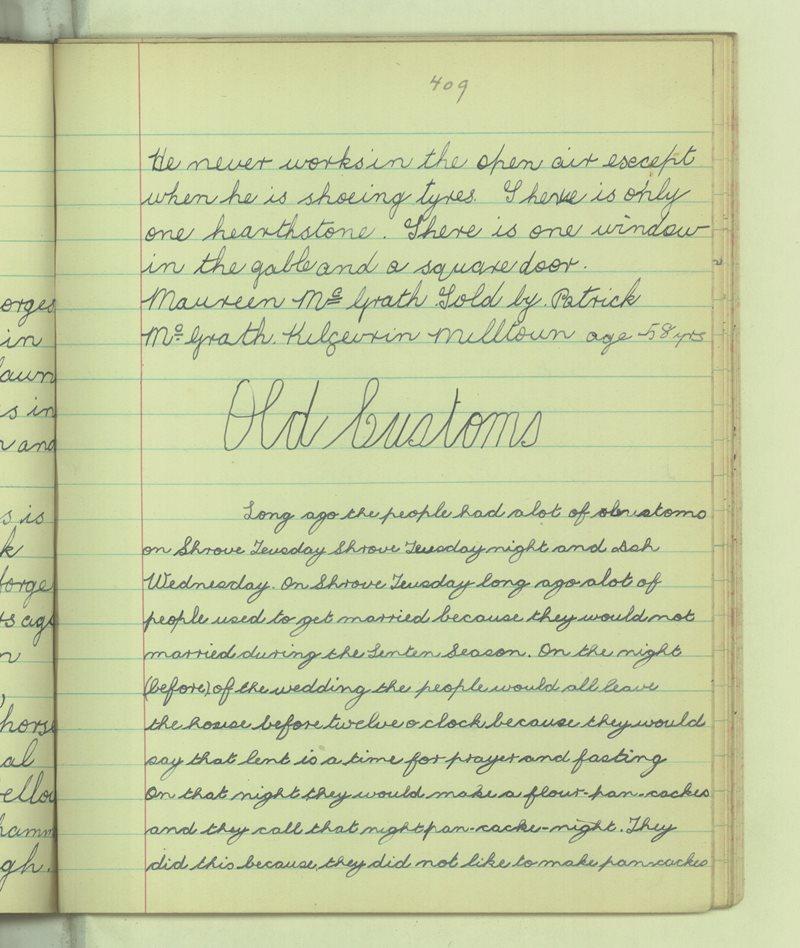 Cill a' Ghaimhrín (Killgevrin) | Bailiúchán na Scol
