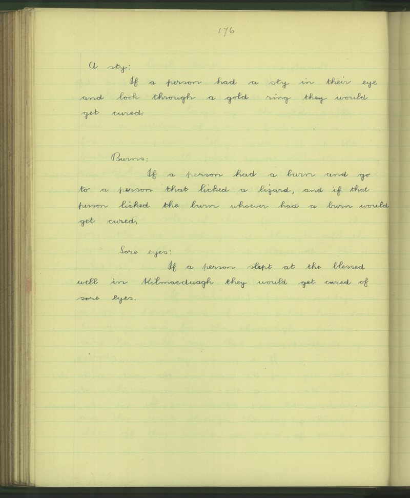 Cill Mhic Dhuach   The Schools' Collection