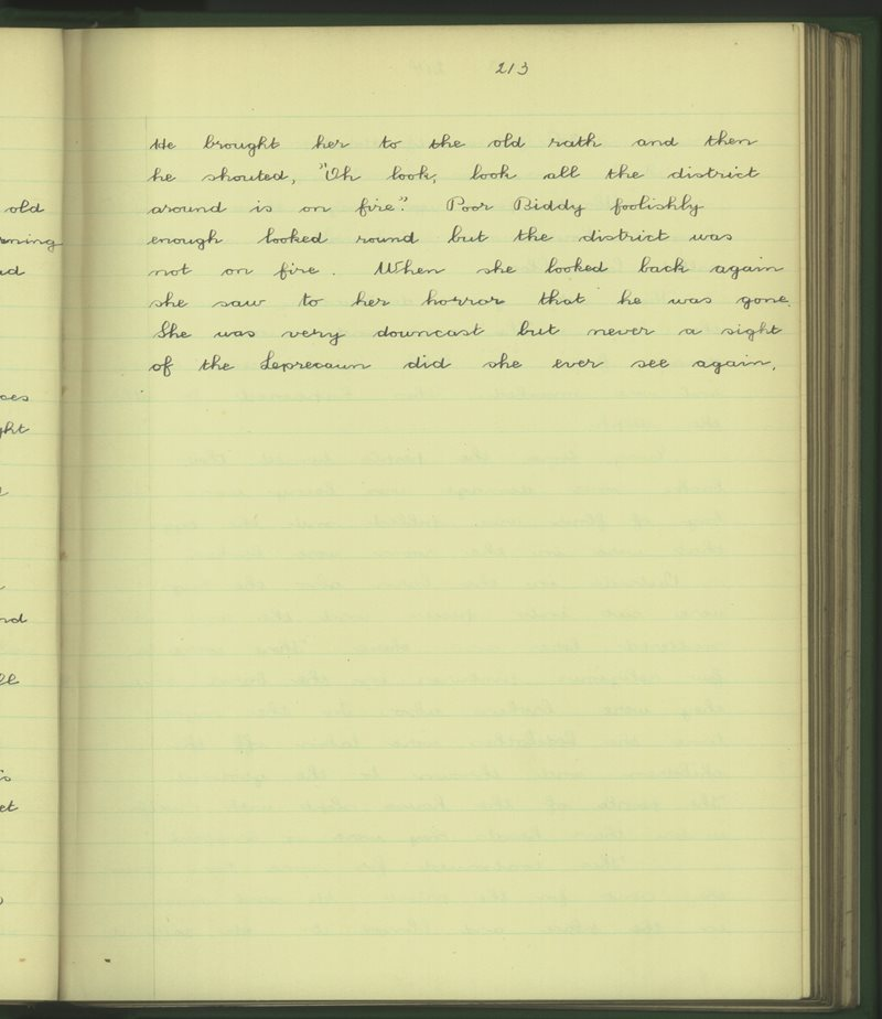 Cill Mhic Dhuach | The Schools' Collection