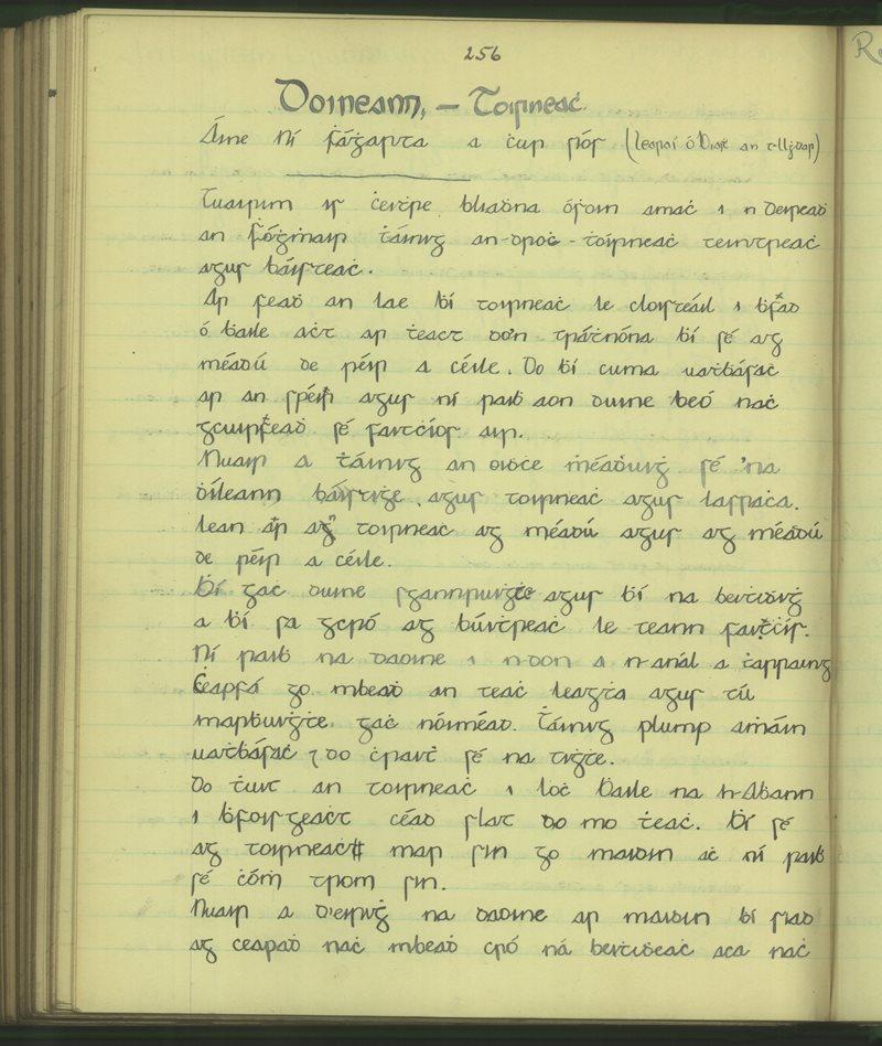 Doineann - Toirneach